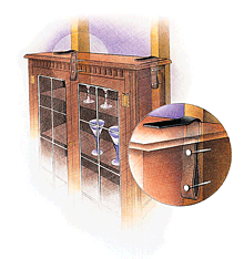 Tall Furniture Should Be Attached To Wall Studs Avoid Toppling In An Earthquake
