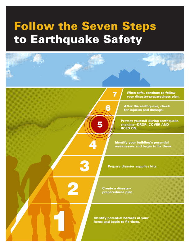 The seven steps on the road to earthquake safety - Putting Down ...