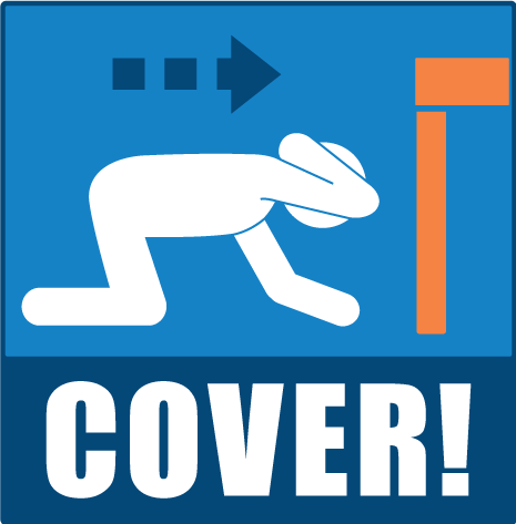 Great Shakeout Earthquake Drills Drop Cover And Hold On