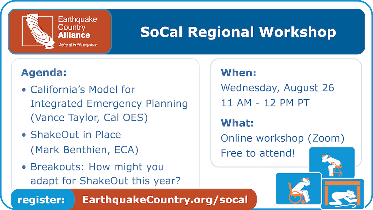 Promotional graphic for August 26, 2020 ECA SoCal Online Workshop